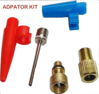 BICYCLE BIKE CYCLE TYRE TUBE SCHRADER PRESTA ADAPTOR VALVE FOR AIR PUMPS Laxzo