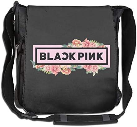 ショルダーバッグ メッセンジャーバッグ ブラックピンク Blackpink Single Shoulder Pack メンズ 斜め掛けバッグ クロスボディバッグ レジャーバッグ 2WAY ラウンドファスナー 肩掛け カジュアル 大容量 シンプル 縦型 手提鞄