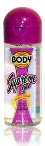 Supreme Lubricant Water Based Gel - 2.3 oz. by Body Action
