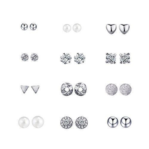 Zealmer Earrings 2 1 2 5CM Assorted Geometric