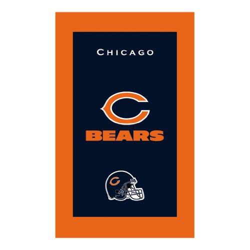 KR Strikeforce Bowling Bags Chicago Bears NFL Licensed Towel by KR - Nfl Team Bowling Towel