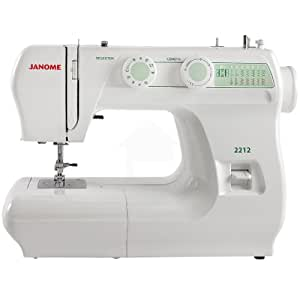 Janome 2212 sewing machine arts crafts sewing for Arts and crafts sewing machine