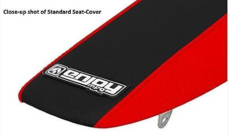 All Black Enjoy MFG Standard Seat Cover for Honda CRF 250 R Early Models