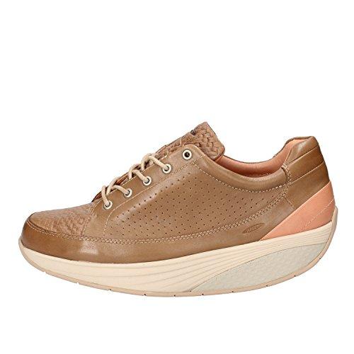 Marrone Rosa MBT Pelle Sneakers 37 Donna EU xOqv4f6