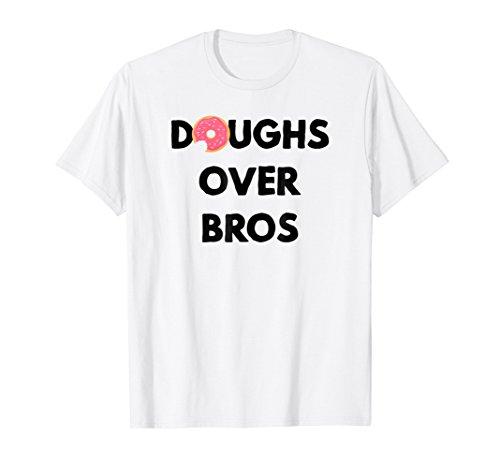 Mens Doughs Over Bros - I Love My Girlfriends T Shirts Small (Girlfriend Value T-shirt)