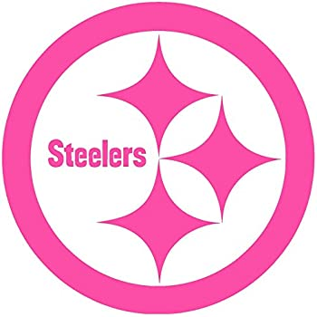 b8574c63c Amazon.com  Pittsburgh Steelers Girl Emblem Car Window Decal Sticker ...