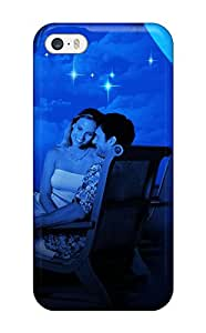 Cute Tpu CaseyKBrown Lovely Couple In Romance In Moon Light Case Cover For Iphone 5/5s