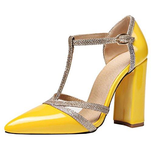 Mujer K 18A21969 KST amarillo Vertical Tira Agodor 8 Rw4Yqq