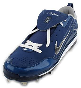 Nike Air Show Elite MVP Men's Baseball Cleats Size 16 Pro Blue/White (334339-411)