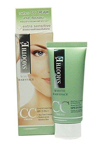 smooth-e-white-babyface-cc-cream-spf25-pa-skin-tone-corrector-and-redness-prone-sensitive-skin-2-pcs