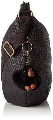 Negro hombro bolsos Kipling y Shoppers Mujer Nille de q0cvR