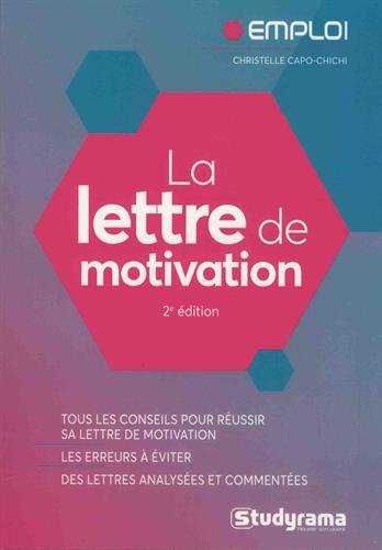 La Lettre De Motivation Télécharger Pdf De Christelle Capo