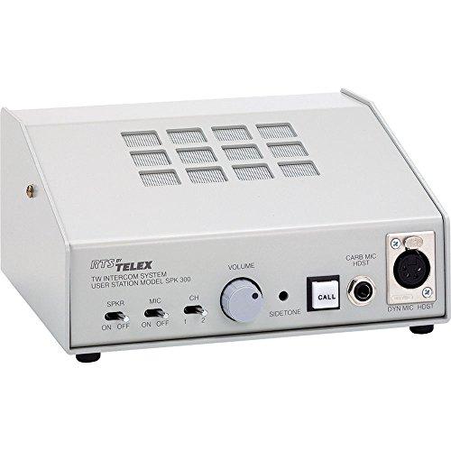 Bosch SPK300L,DLA4F 2 CHANNEL SPEAKER STATION W/DUAL LISTEN FEATURES CHANNEL SELECT, SPEAKER/MIC TOG