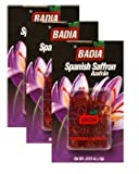 Badia Saffron Spanish 0.4 gm Pack of 3