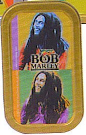 Country Bob Marley Tobacco Tin [Kitchen & Home]