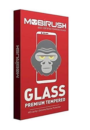 MOBIRUSH Gorilla Tempered Glass Screen Protector for Xiaomi Redmi 3S Prime Screen guards