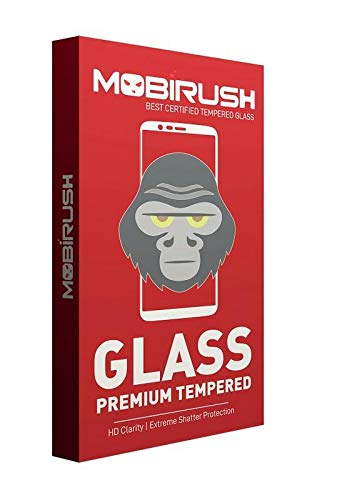 MOBIRUSH Premium Gorilla Tempered Glass Screen Protector for Xiaomi Mi Mix 2