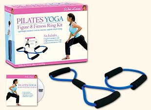 Pilates Yoga: Figure 8 Fitness Ring Workout