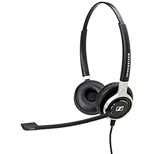 Sennheiser SC 660 USB CTRL (504555) – Double-Sided Business Headset | For Unified Communications | with HD Sound, Ultra…