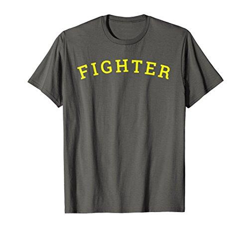 Walk Out Mma Shirt (Mens Fighter Label T-Shirt Walkout Boxing MMA Combat Sports Tee XL Asphalt)