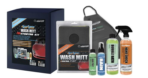 Nanoskin (AS-022) AutoScrub Medium Grade Wash Mitt Pro Starter Kit