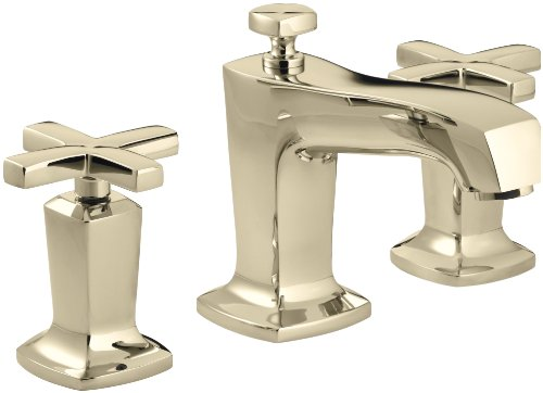 french bathroom fixtures kohler margaux widespread bathroom faucet gold 12918