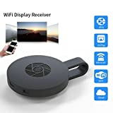 SEC Mirascreen Wifi TV Dongle For Iphone Ipad Windows Pc Android,Tablets to TV Selector Box Airplay (Black)