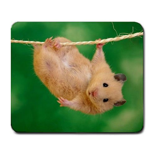 (Cute Hanging Dangling Hamster Mouse Pad MP91)