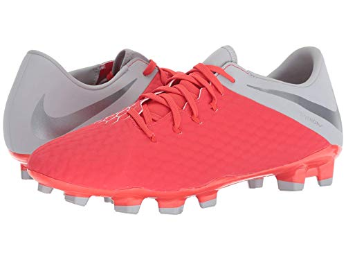 [NIKE(ナイキ)] メンズランニングシューズ?スニーカー?靴 Phantom 3 Academy FG Light Crimson/Metallic Dark Grey/Wolf Grey 12 (30cm) D - Medium