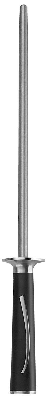 Ginsu Hanaita Damascus 10-Inch Diamond Honing Rod 5911