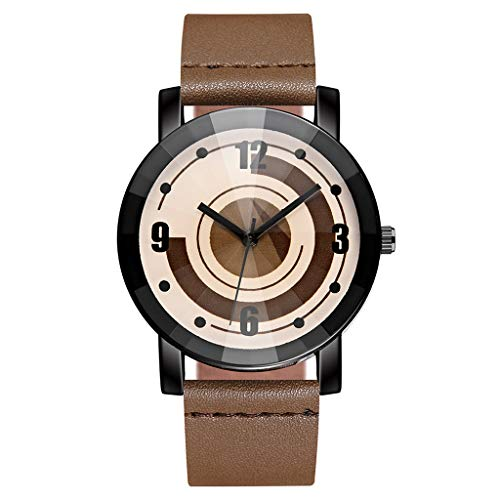 Londony⌚ Outdoor Watches for Men, Camouflage Watch Simple Watch with Date Fashion Dress Leather Watch/mesh Belt Watch