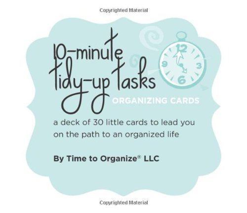 Download 10-Minute Tidy-Up Tasks Organizing Cards pdf epub