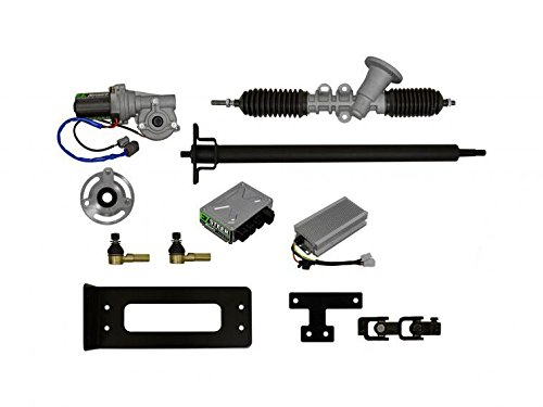 SuperATV EZ-Go RXV Golf Cart EZ -STEER Power Steering Kit (2008+) by SuperATV.com