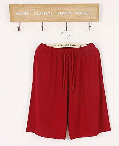 Casual Bermuda Fascia Da A Rot Pantaloni Corti Casa Elastica Pigiama Con Uomo Giovane Aieoe Sleepers tshxQCrd