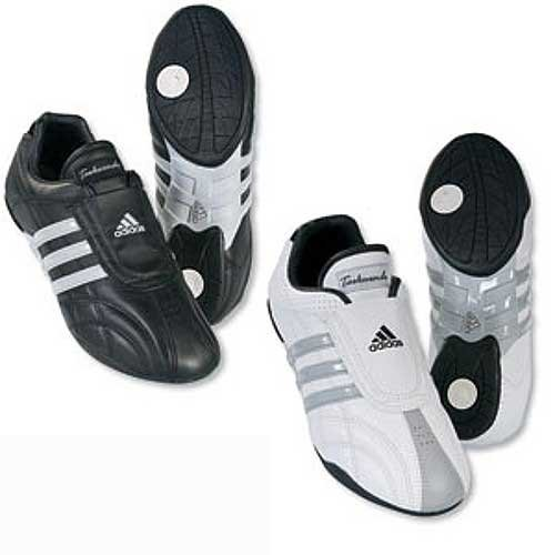 NEW ADIDAS ADI LUXE SHOES - black w/grey stripe - 6 by adidas