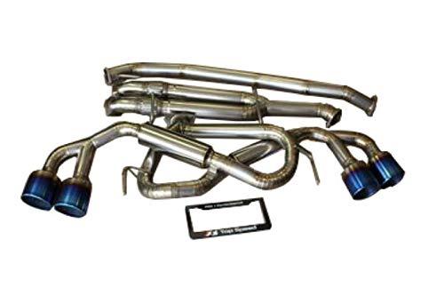 (Top Speed Pro 1 TITANIUM-GTR-R35-FG TOP SPEED PRO-1 TITANIUM EXHAUST 3.5