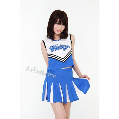 Sky ? Chia / cheerleader outfits ? blue bargain! (Blue And Yellow Cheerleader Outfit)