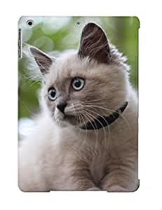 Appearance Snap-on Case Designed For Ipad Air- Animal Cat(best Gifts For Lovers)