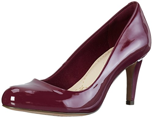 Patent para Carlita Plum Clarks Mujer Tacón Cove Zapatos de Morado wOw7xPqC
