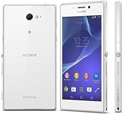 Sony Xperia M2 -D2303- Smartphone Orange libre Android (pantalla ...