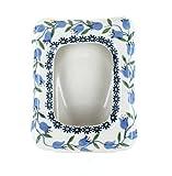 Blue Rose Polish Pottery Tulip Frame