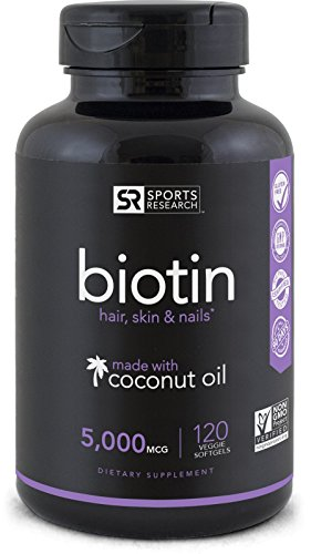 Biotin (High Potency) 5000mcg Per Veggie...