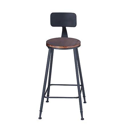 Amazon.com: Barstools - Taburete alto para desayuno, silla y ...