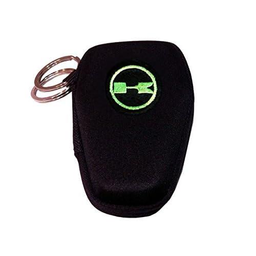 Kawasaki étui porte-clés avec deux anneaux