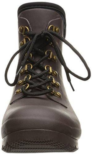 Lluvia Marrón Boots Tobillo con Mujer Cordones Botas Evol en de el para Roma tdFwx7qBt