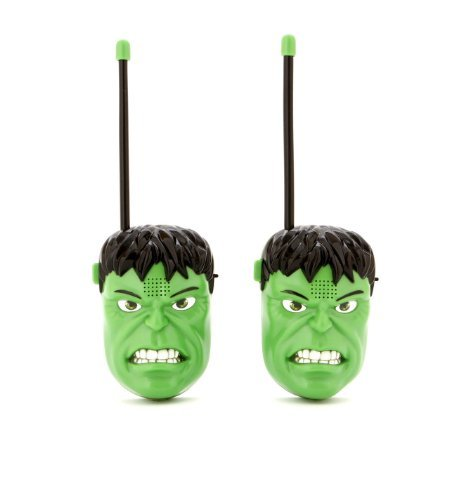 Sakar Marvel The Avengers HULK Walkie Talkies Two Way Radio -