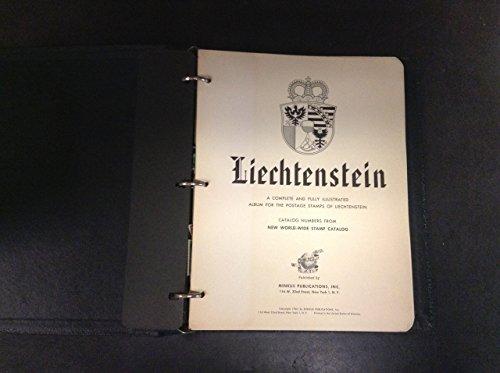 Liechtenstein Minkus Specialty Album & Binder 1912-1968, A Few Stamps