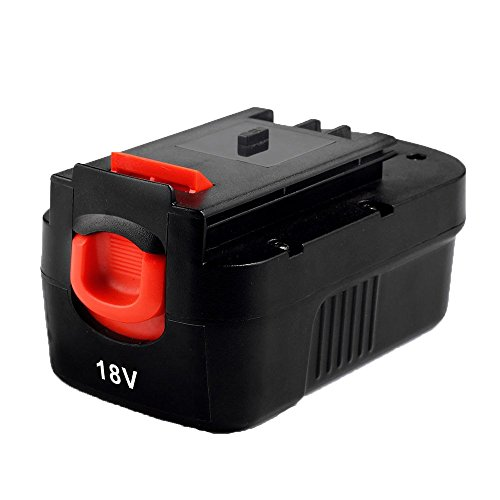 18 Volt Nicad Power Tool (Masione 2000mah NI-CD Battery for Black & Decker 18volt Power tools HPB18 HPB18-OPE 244760-00 A1718 A18 fits Firestorm A18 FS180BX FS18BX FS18FL FSB18 NST2018 NST1810 NHT518 NS118 NPP2018 NPT3118)