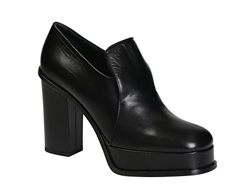 Céline À Talons Chaussures Femme 317413KPMC38NO Cuir Noir Fxwr4ZqF