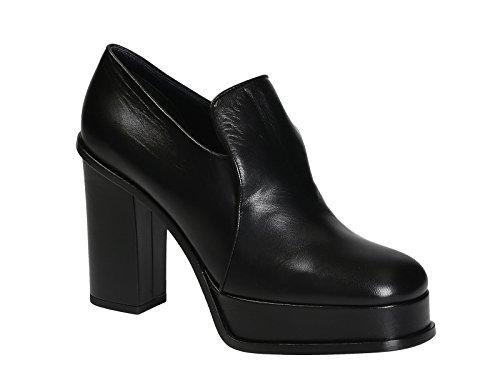 317413KPMC38NO Cuir Noir Céline Femme Talons Chaussures À wgq57xnvf7